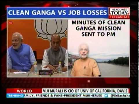 Notices to factories along the river suspected of polluting the Ganga