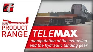 FAYMONVILLE TeleMAX - manipulation of the extension and the hydraulic landing gear