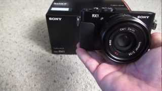 The Sony RX1 - Size Comparisons, AF Speed and more!