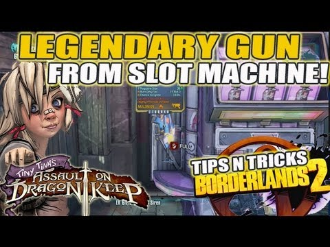 Legendary Gun Drop!! Tiny Tina Lootsplosion Slot Machine (Borderlands 2)