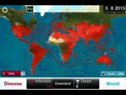 Guide: Plague Inc. Bacteria on Brutal