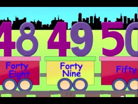 Learning Numbers Learn Counting With Number Train 41 To