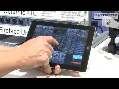 TotalMix App: RME TotalMix per iPad steuern / Musikmesse 2013