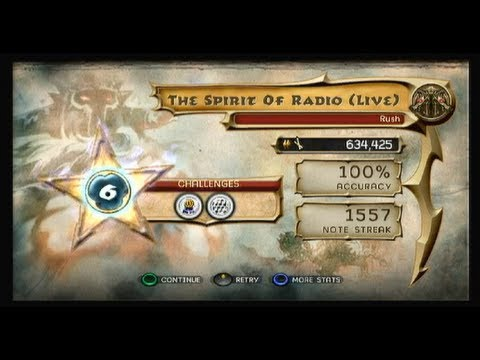 [GH] The Spirit of Radio (live): Drums 100% FC, Expert+