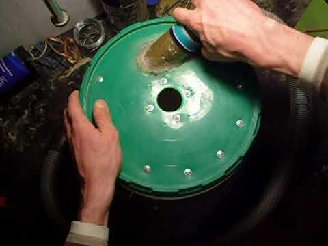 Циклон для пылесоса своими руками для гаража