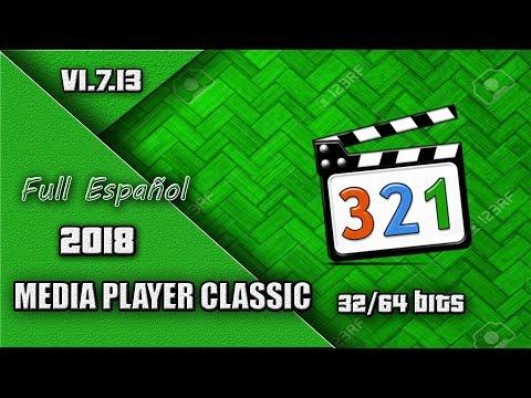 Descargar E Instalar Media Player Classic 1.7.13 32/64Bits 2018 (MEGA-MediaFire-4Shared)