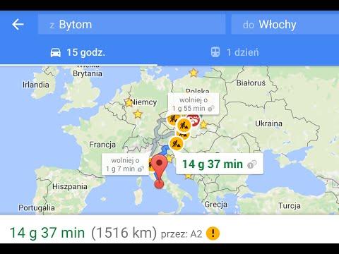 Droga Polska - Czechy - Austria - Włochy   Opel Astra G