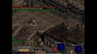 Slash Diablo II   running torches