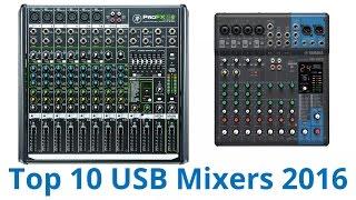 10 Best USB Mixers 2016