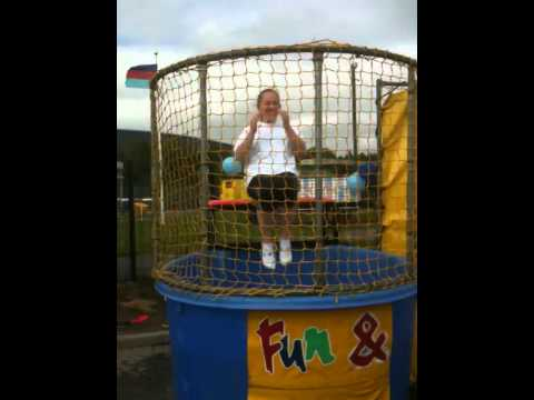 Hovis Carole-Anne gets dunked.MOV