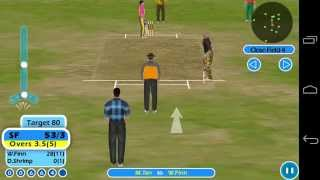 Beach Cricket Android Gameplay -Full Match -Moto G (79/7 -5 overs)