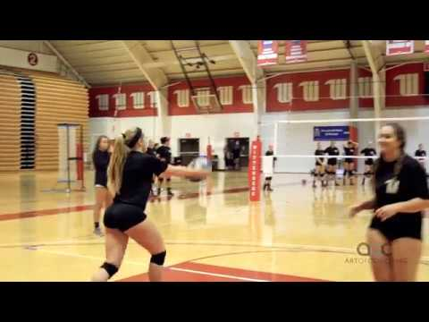 AVCA Video Tip of the Week: Threading the Elastic Drill to Train Flat Jump Float Serves