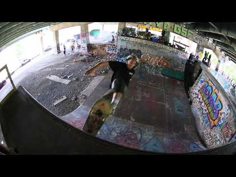 ALEX DESMOND FDR SKATEPARK JULY 4TH 2020 RAW FOOTAGE