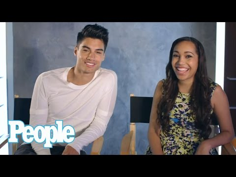 The Wanted Life's Siva and Nareesha Test Their L.A. vs. U.K. IQ - PEOPLE