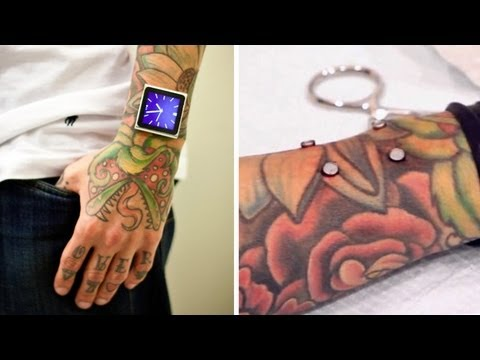 Permanent iPod Nano Watch?!