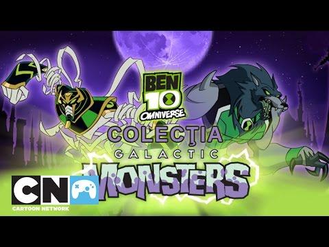 Ben 10: Omnivers - Colecţia Galactic Monsters   Jocuri   Cartoon Network