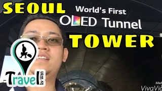 World First OLED Tunnel, Seoul Tower Plaza, Korea