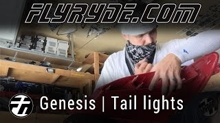 HOW TO - Cut open a Superlux Hyundai Genesis Tail Light
