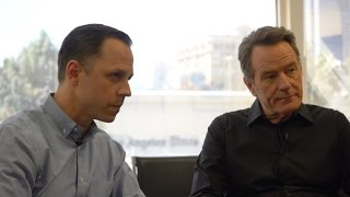 Bryan Cranston and Giovanni Ribisi discuss 'Sneaky Pete'