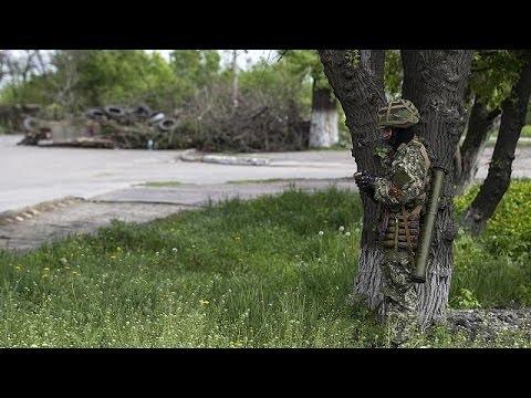 Slavyansk locals hope for peace