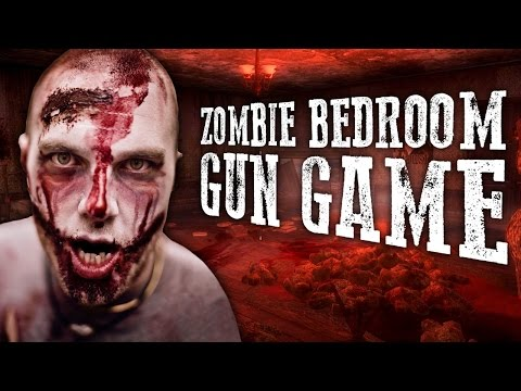 THE ZOMBIE BEDROOM GUN GAME ★ Call of Duty Zombies Mod (Zombie Games)