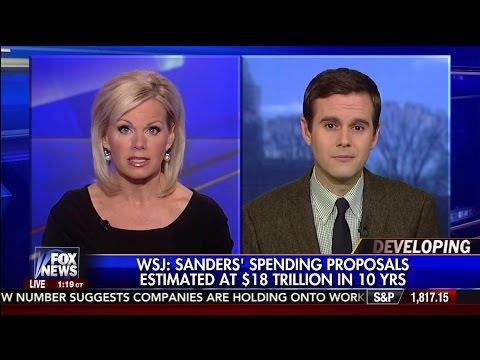 WSJ REPORT: Bernie Sanders Reported Spending Plan $18 Trillion - Guy Benson