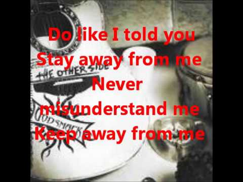 Godsmack - Keep Away (lyrics) video