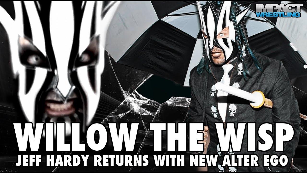 Jeff Hardy Willow Mask TNA Jeff Hardy Willow The Wisp Wallpaper