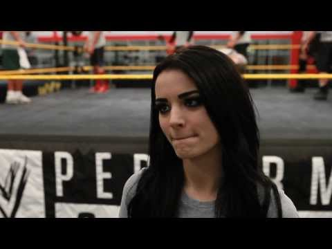 Paige Interview: On Nxt, Wwe Divas, Wwe Performance Center And Missing The Uk video