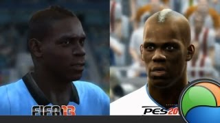 FIFA 13 vs PES 2013 [Comparao] - Baixaki Jogos