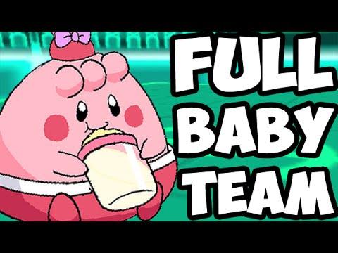 FULL BABY POKEMON TEAM!