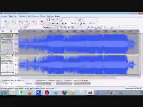 Audacity   Cómo sacar la voz del cantante de un archivo de audio
