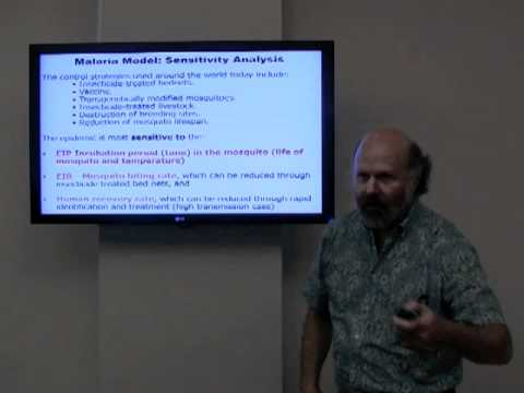 Part 3 Malaria and Global Warming of the Mathematical Models Lecture