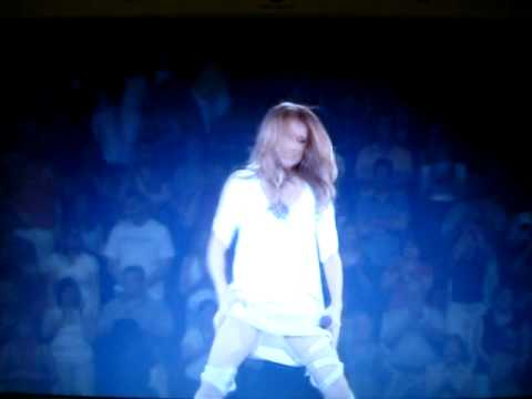 Celine: Thigh grabbing world tour 2008/9