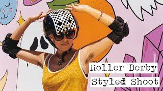 Roller Derby Styled Shoot (Canon AE-1 Program + Nikon F3)