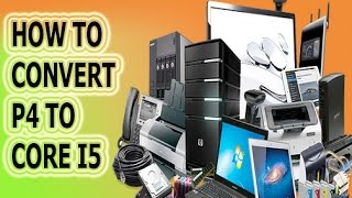 UPDATE PENTIUM 4 TO CORE I5 WITHOUT ADD ENY HARDWARE urdu and hindi