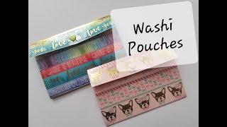 Washi Snap Pouch. CRAFT FAIR Item