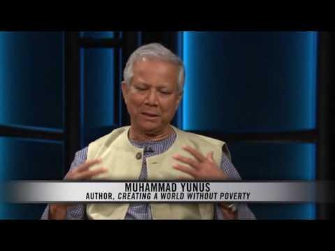 Muhammad Yunus talks to Bill Maher