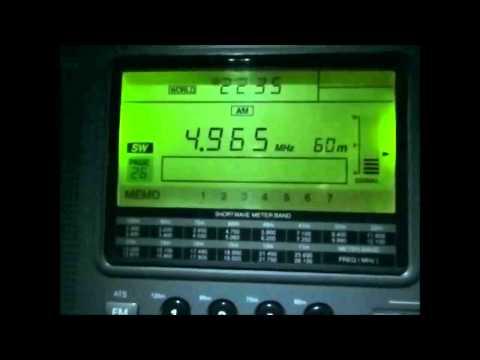 4965 Khz Radio Alvorada Parintins Brazil (presumed)