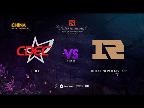 RNG vs CDEC, TI9 Qualifiers CN, bo5, game 5 [Adekvat & Lost]