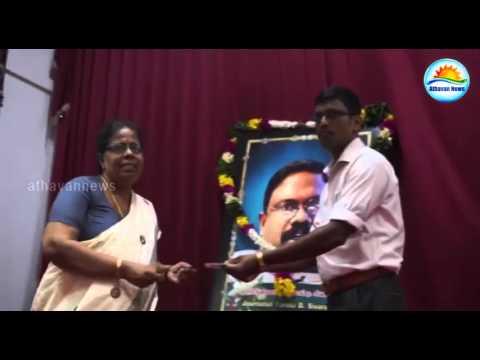 Sivaram's 11th annual Memorial Day observance in Jaffna