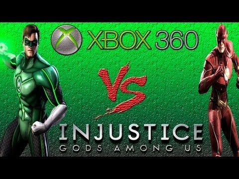 Lanterna Verde Vs Flash - Injustice: Gods Among Us - Gameplay - Xbox 360