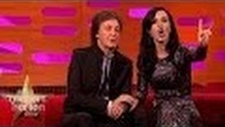 Katy Perry Surprised that Paul McCartney is Still Alive   The Graham Norton Show