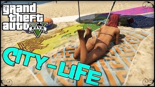 GTA V Video Editor : City Life - By TGamingK