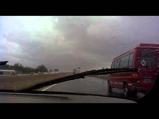 AY CARAJO! choque en ruta 7 Mendoza Argentina.