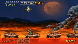[PSP]Metal Slug XX Hard Ralf All Clear NO Death(US.ver)