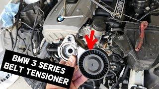 BMW E90 SERPENTINE BELT TENSIONER REPLACEMENT 325I 328I E60 525I 528I E91 E92