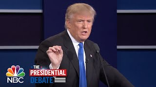 Donald Trump: I Will Release Tax Returns When Hillary Clinton Releases Emails   NBC News