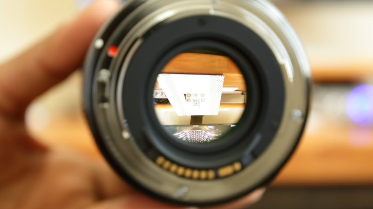 Юстировка объектива sigma 30mm 14 своими руками 44