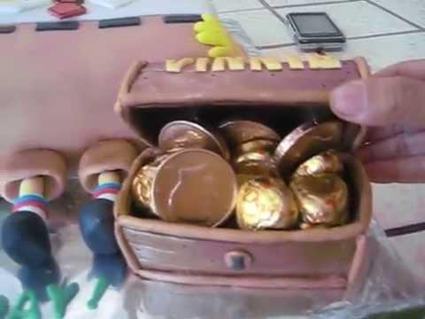 Spongebob Squarepants Fondant Cake - my 3rd!